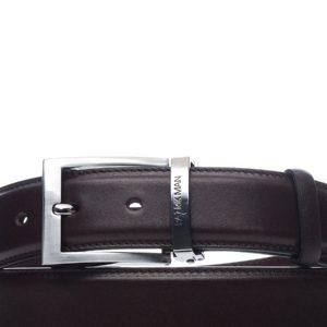 Ремень кожаный Patrikman коричневый